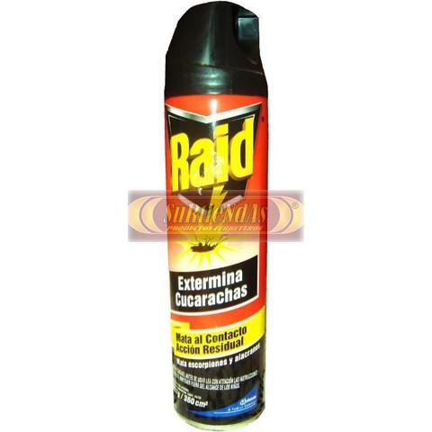 Insecticida raid mata cucarachas 400 ml surtiendas - Productos para matar ratones ...