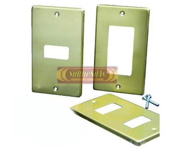 Placas de aluminio 1 ventana surtiendas placas surtiendas - Placa de aluminio ...